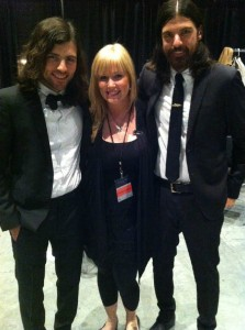 Lauren Munns with The Avett Brothers in Raleigh