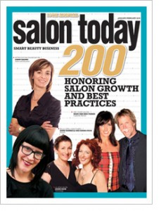 Salon Today magazine 2010