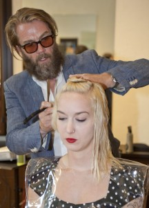 R+Co Launch, Samuel Cole Salon, Howard McLaren, Kristin Carson, R+Co