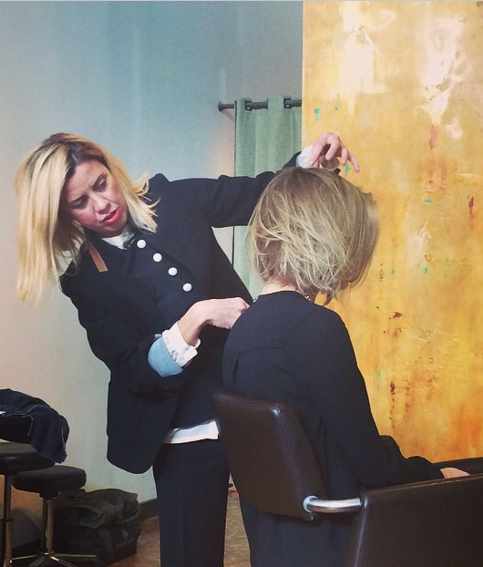Samuel Cole Salon, Oribe Education, Coby Alcantar, Unstructured Bob, Luxury Brand Partners